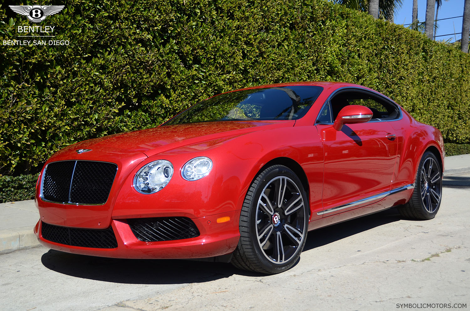 2013 Quot Dragon Red Quot Bentley Gt Coupe Bentleysd