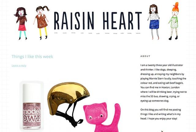 Raisinheart.com