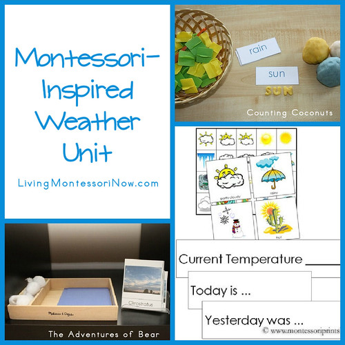 Montessori-Inspired Weather Unit