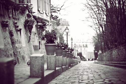 Paris | A quiet street