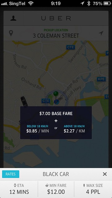 Uber Is Here In Singapore 171 Blog Lesterchan Net