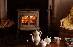wood, room, wood-burning stove, fireplace, hardwood, lighting, hearth,