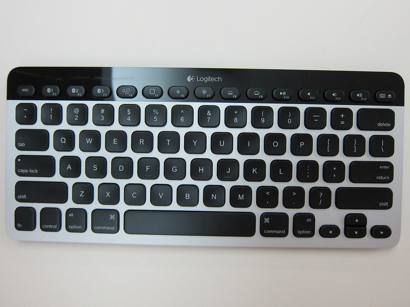 Logitech Bluetooth Easy-Switch Keyboard - Front View