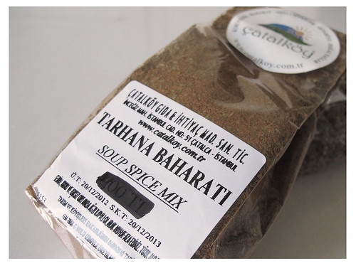 Tarhana Baharati (Soup Spice Mix)