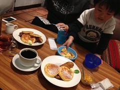 カフェで一休み 2013/2/25