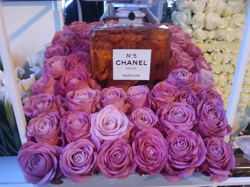 Chanel Flower Stall Covent Garden