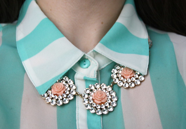 Mint + Pink color combination for spring