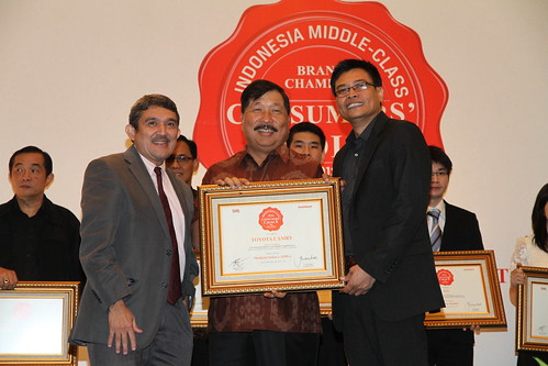 Indonesia Middle-Class Brand Forum 2013-Toyota