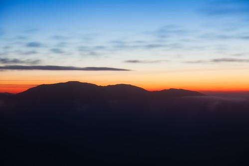 mountain sunrise landscape dawn scotland highlands glow hiking east alpenglow schottland ullapool assynt reassurance gloamnig