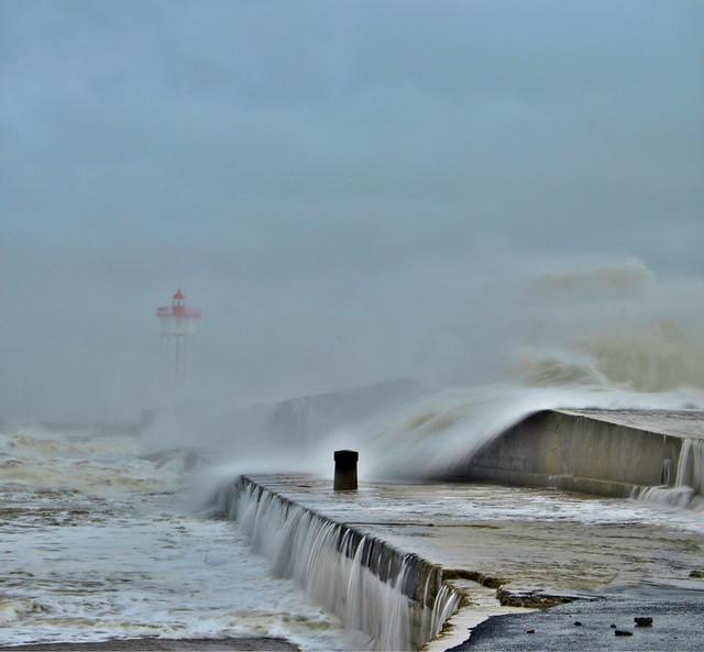 Tempête à Port Vendres
