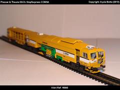 Plasser & Theurer 09-3x Dynamic Stopfexpress COMSA Kibri 16090 Modelismo Ferroviario Model Trains Modelleisenbahn modelisme ferroviaire ferromodelismo