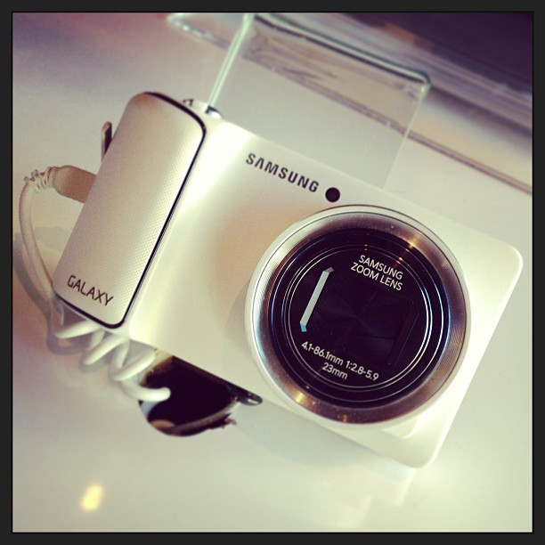 Samsung Galaxy Camera. One of my Oh Wow! Highlight products of #sxsw Seriously.
