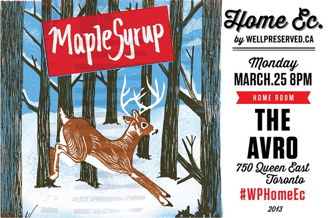 HomeEc #16: Maple Syrup (March 25, 2013)