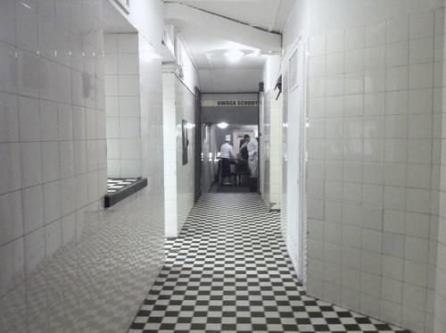 Pasillo de acceso