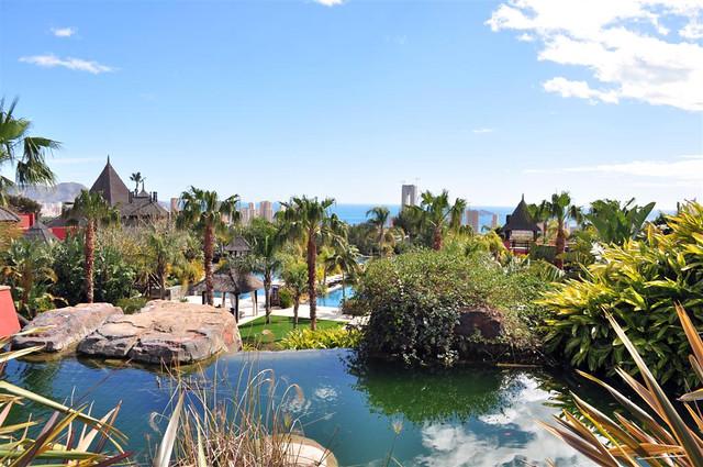 Los jardines y todo el recinto es un inmenso jardín estilo asiático repleto de ríos, cascadas, fuentes, ... verde ... azul ... asia gardens benidorm, #experiencia en el paraiso - 8555011847 ce8e837abb z - Asia Gardens Benidorm, #experiencia en el paraiso