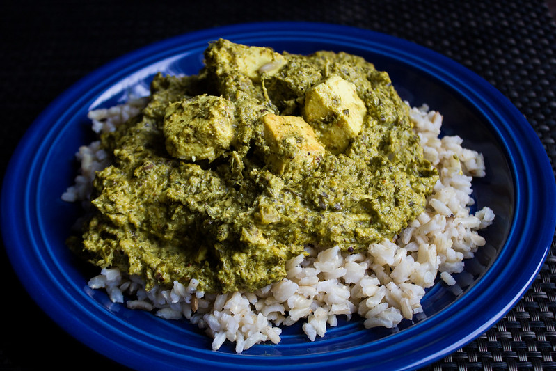 Kale + Paneer + Cumin Rice