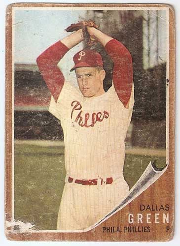 1962 Topps Dallas Green