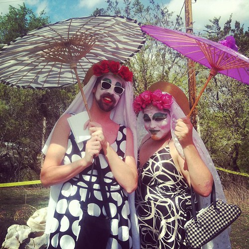 Austin's own Sisters of Perpetual Indulgence at Gay Bi Gay Gay