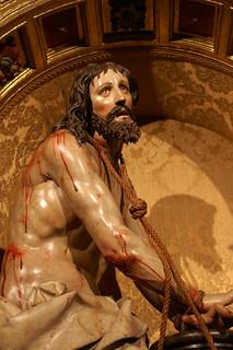 Cristo amarrado a la columna (Emilio Iglesias Velasco)