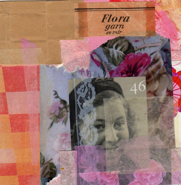 Collage: Aunt Flora Visiting
