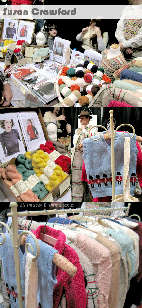 Susan Crawford VIntage at the Edinburgh Yarn Festival 2013 | Emma Lamb