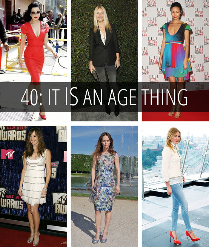 Musing: 40 - It IS An Age Thing