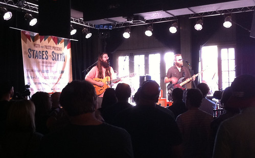 Matthew E. White at Paste party