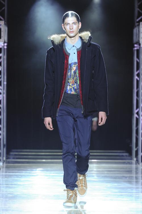 FW13 Tokyo yoshio kubo013_Maxime Bergougnoux(Fashion Press)