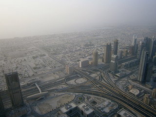 1st Interchange sur la Sheikh Zayed Road