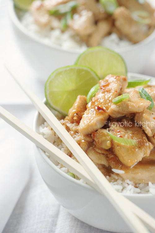 Honey, Lime & Ginger Chicken