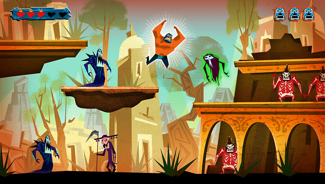 Guacamelee! for PS3 and PS Vita