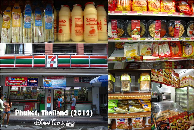 Phuket Day 4 - 7 Eleven & Foods