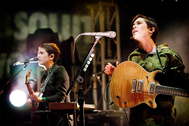 Tegan and Sara during SXSW