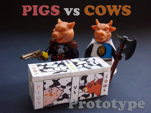 Pigs vs Cows Crate Prototype - now on KICKSTARTER!