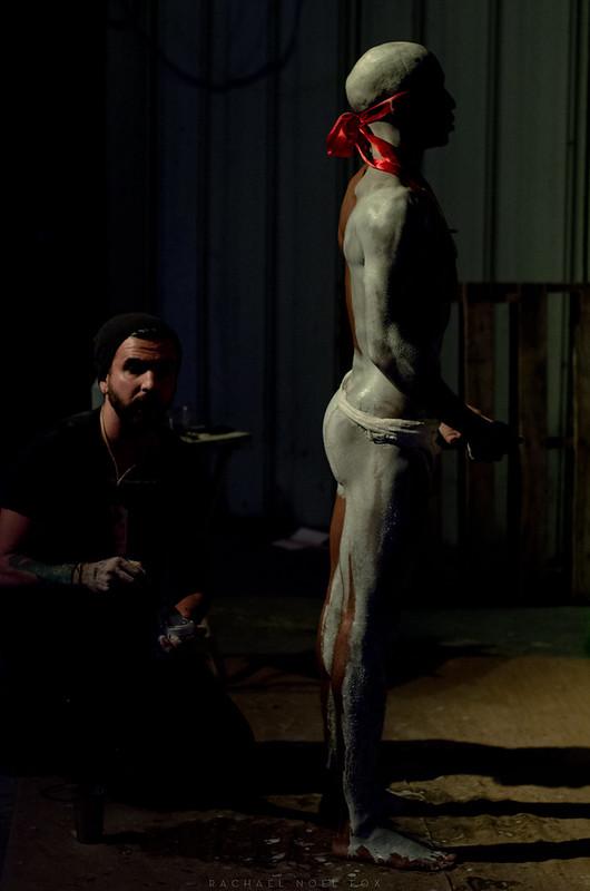 Painting man.