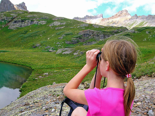 Make spring break fun for you and the kids with a scavenger hunt for such things as deer or birds. US Forest Service photo.