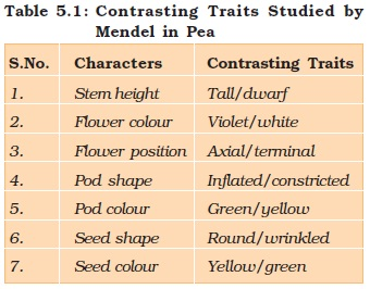 NCERT Class XII Biology Chapter 5 : Principles of