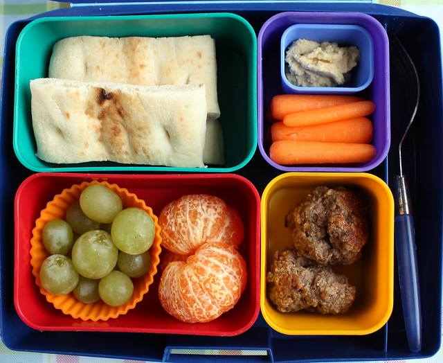 Big Kid Meatball Bento #735