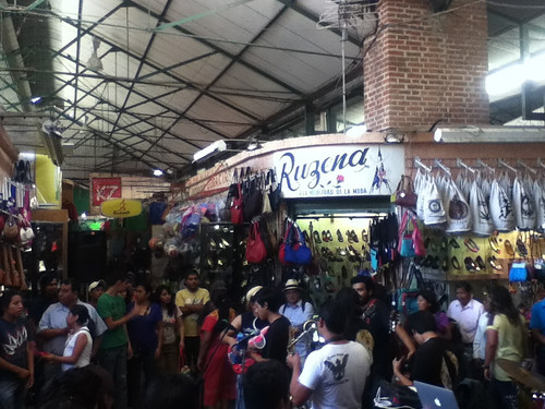 @bytband performing at the Benito Juarez Market @ Oaxaca 03.2013