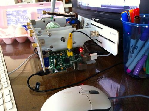 Raspberry Pi Egg-Bot