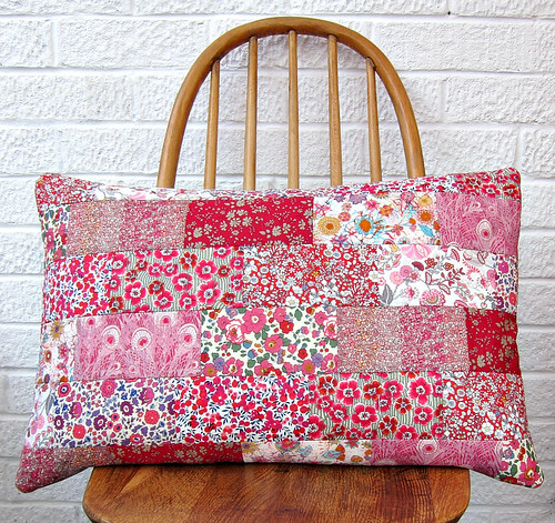 Liberty Wallflower Pillow
