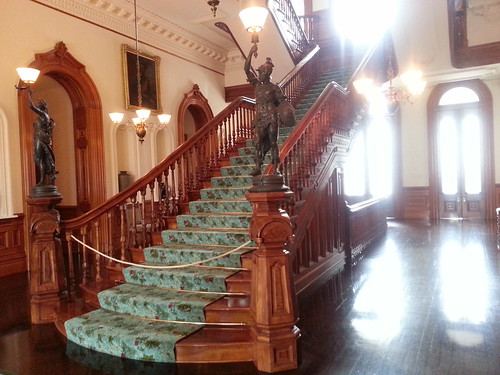 Iolani Palace Staircase by ** Gudenius **