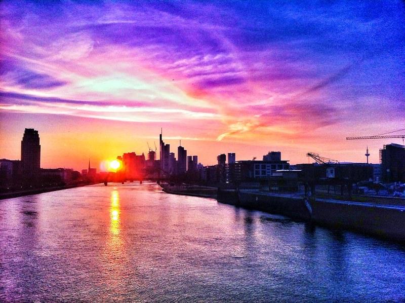 Sonnenuntergang FFM.