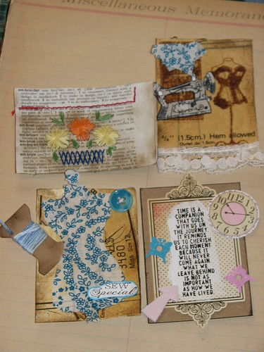 Ink Stains March Charm n ATC Swap 031