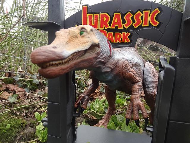 Jurassic Park Toys Diorama - Animatronic Spinosaurus ...