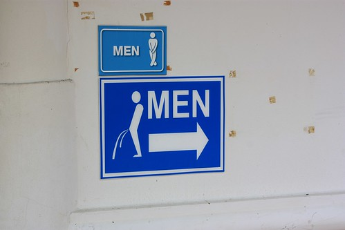 men, just incase you didn't know what to do when you get to the restroom