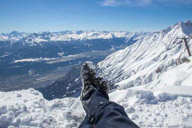 Traveling Boots - The Austrian Alps