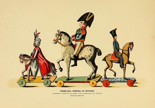 009-Mameluco-general-oficial de un catalogo de fabricante de juguetes de la epoca Imperio-Histoire des jouets….1902- Henry René d' Allemagne
