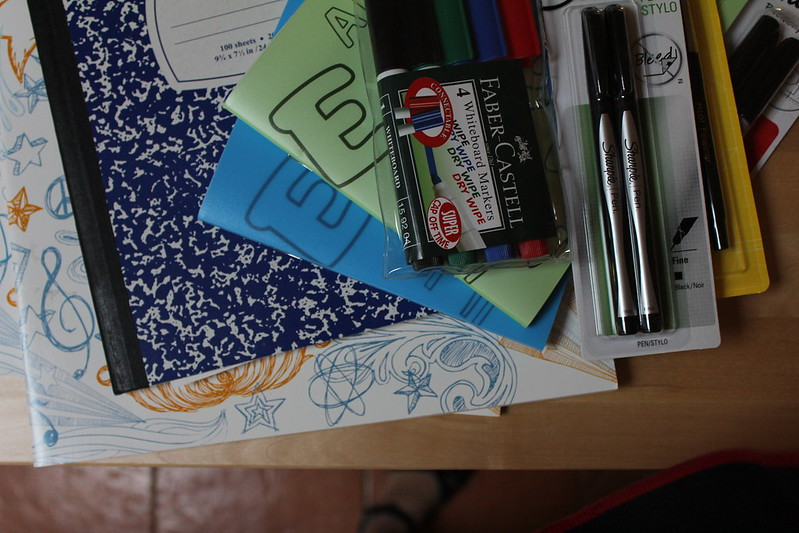 replenished the stationary