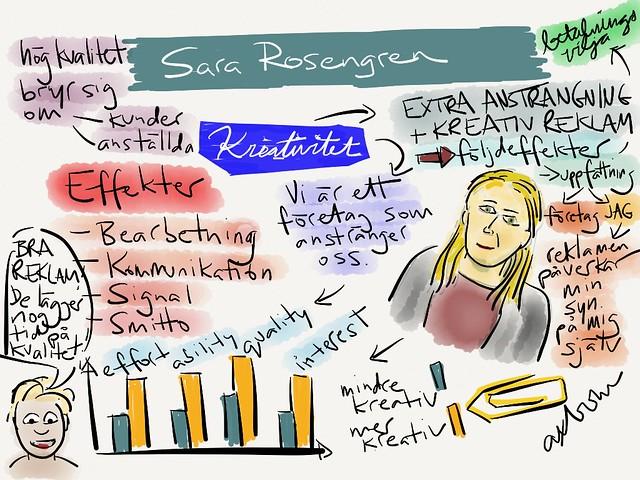 Sketchnotes from Sara @rosengrens talk at #aggro13